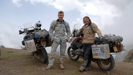 McGregor, Boorman, and their bikes